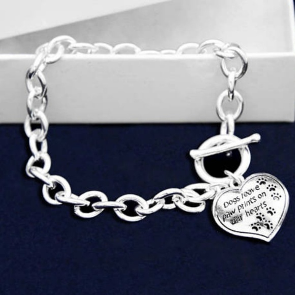 Inspired Closet Jewelry - 3 for $25 • Dogs Leave Paw Prints Bracelet